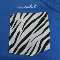 Zebra Tanktop (Royal)