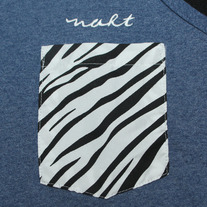Zebra Tanktop (Denim Heather)