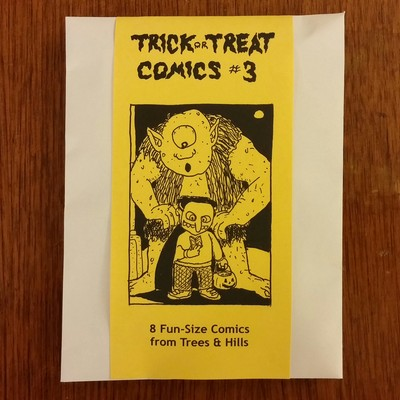 Trick or treat comics #3 by trees & hills