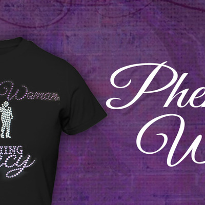 Phenomenal woman - women's conference tee