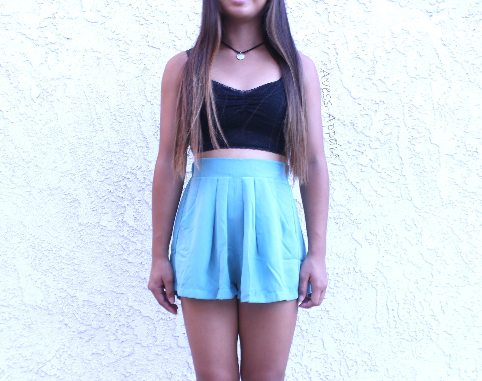 Avess Apparel | Teal Flowy Shorts | Online Store Powered by Storenvy