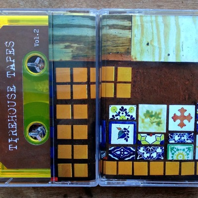 "Tirehouse tapes ""vol. 2"" cassette (lighten up sounds)"