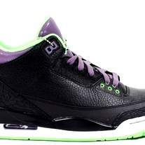 "JORDAN 3  ""THE JOKER "" RETRO 136064-018"