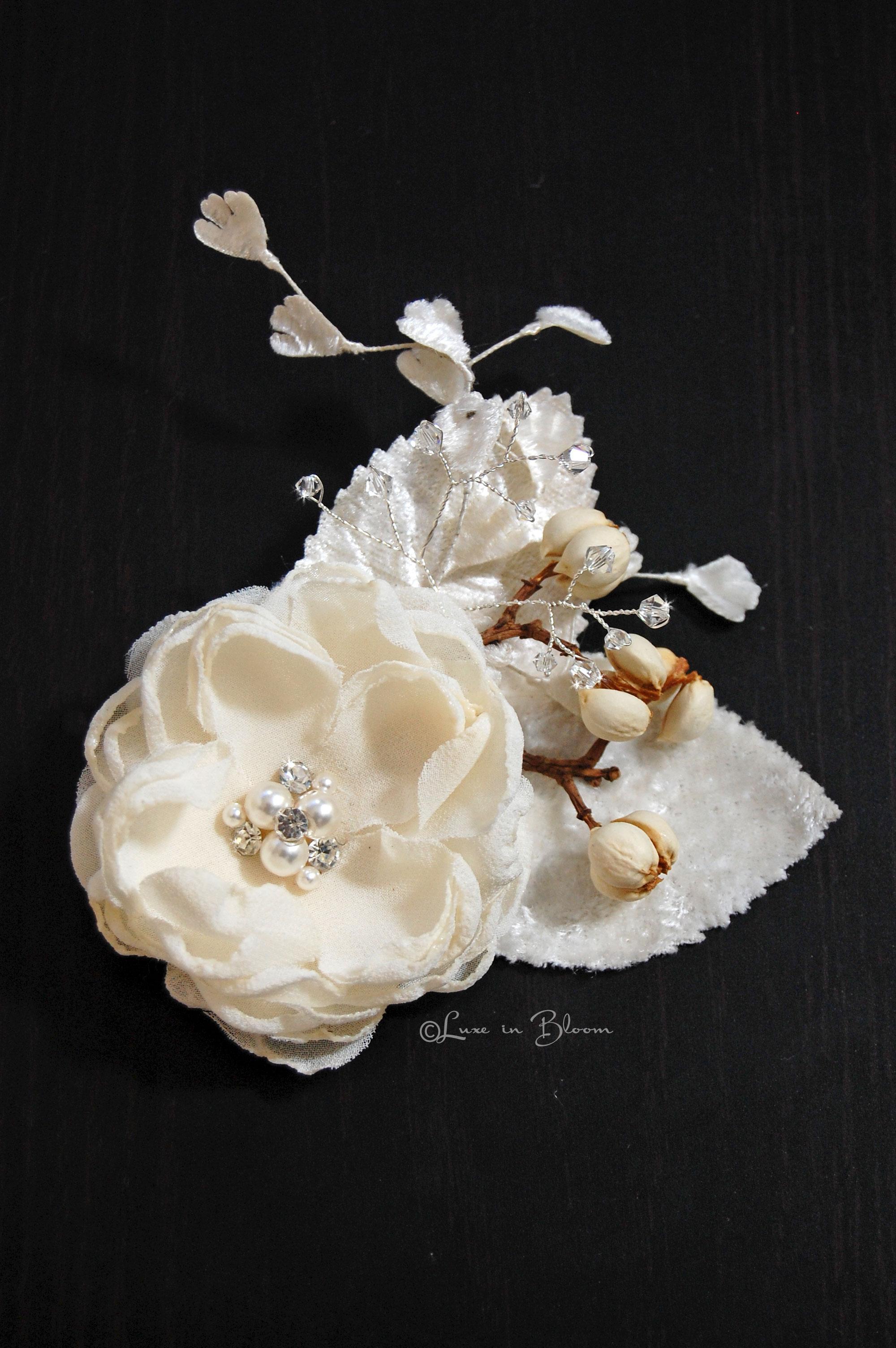 Wedding Hair Flower Bohemian Bloom Style Sf206 Luxe In Bloom