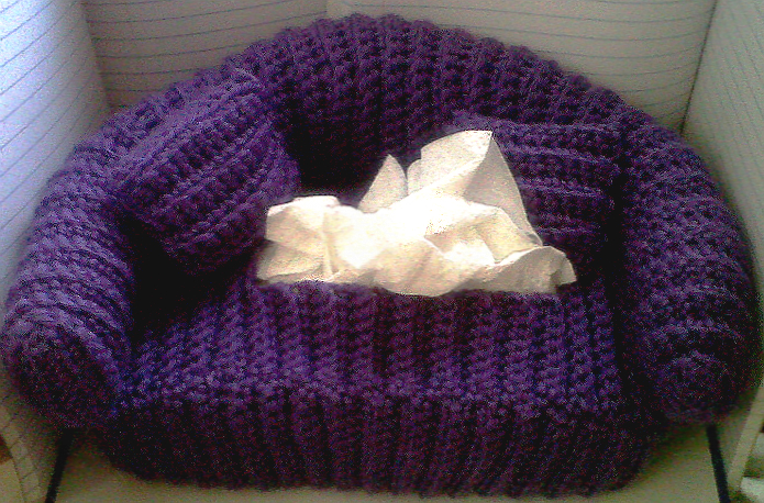 Pics Photos - Couch Tissue Box Cover Crochet Tissue Box Cover