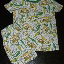 Crocodile PJ's-The Children's Place Size 5
