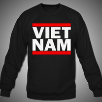 Vietnam DMC Red Stripe Crew