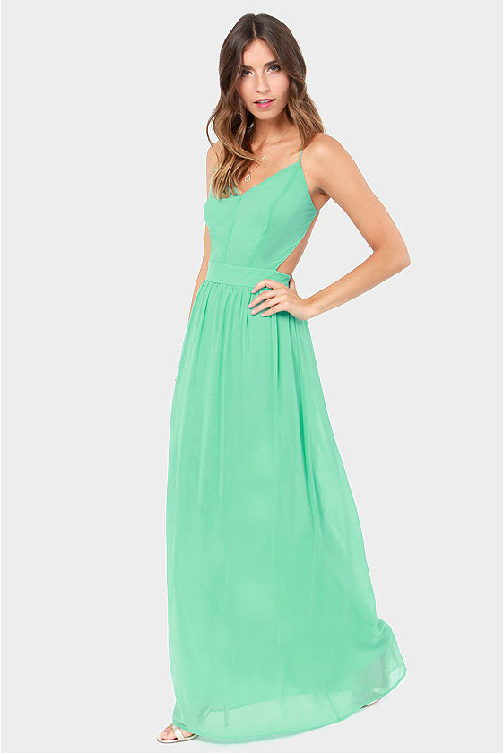 Mint Green Plus Size Dress Ibovnathandedecker