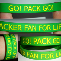 Packer Fan For Life Bracelet