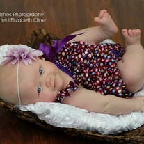 Purple with Dots Petti Romper Birthday Dress Baby Girl Toddler Photo Prop