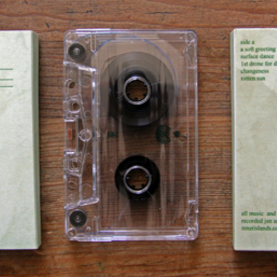"Softest ""music for rain: volume one"" cassette (inner islands)"
