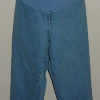 Light Denim Jeans-Take Nine Maternity Size 20W/22W   03023