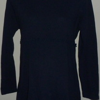 Navy Blue Long Sleeve Top-Take Nine Maternity Size Large