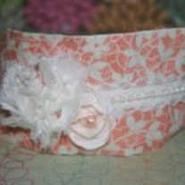 Peaches N' Cream Orig headband