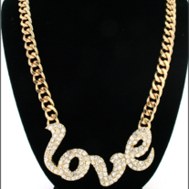 Metal Love Necklace