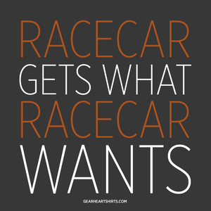 Racecar Gets What Racecar Wants