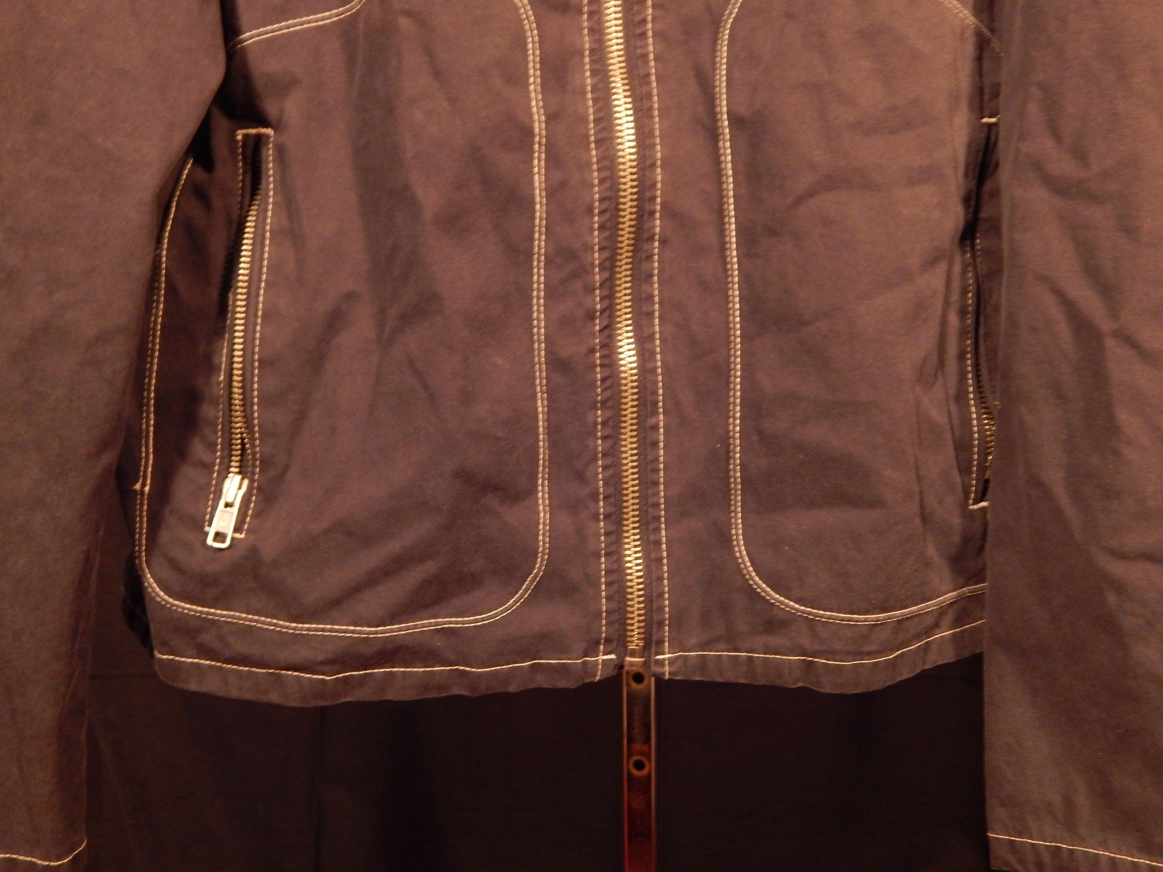 vintage tommy hilfiger biker motorcycle jacket size xl haus of vain. Black Bedroom Furniture Sets. Home Design Ideas