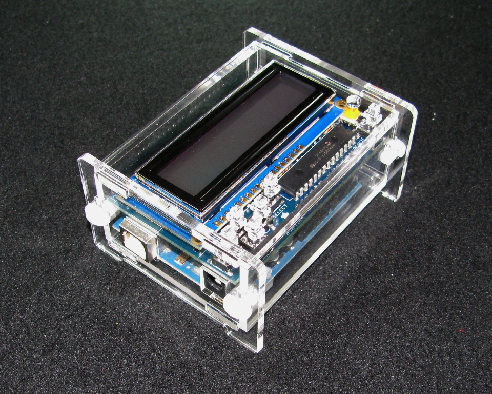 Built to spec s store arduino adafruit lcd case online