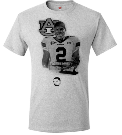 The t shirt store cam newton tribute drawing t shirt for T shirt printing columbia mo