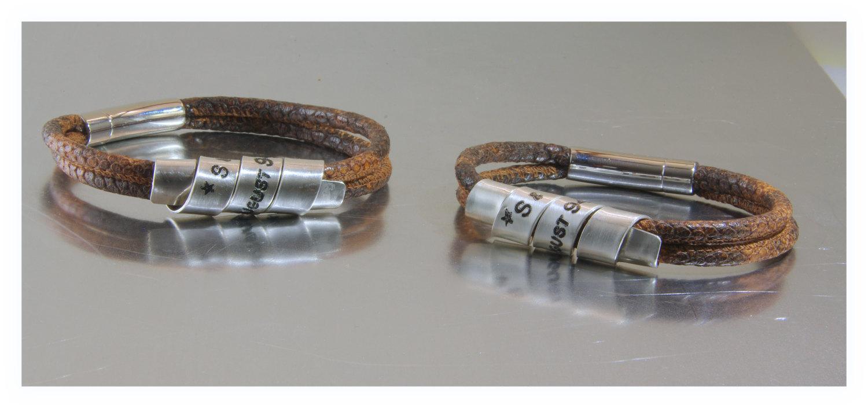 2x Matching Bracelet, His and Her Bracelets, Couple Bracelets ...