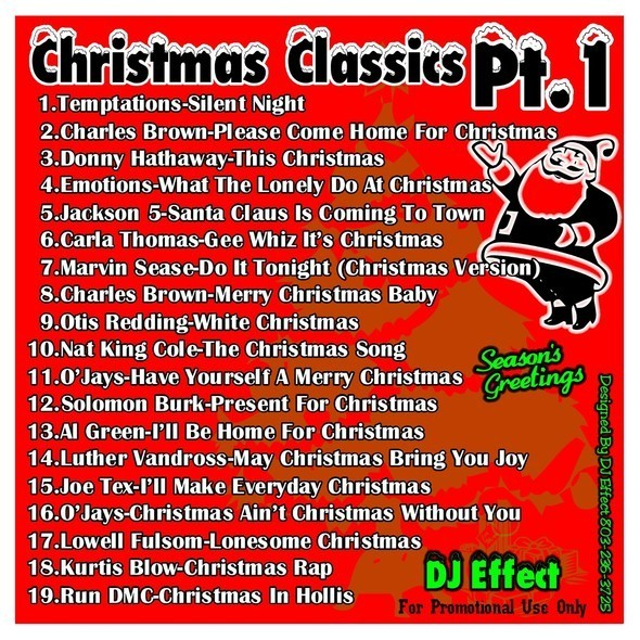 dj effect christmas classics 1 holiday mixtape - Otis Redding White Christmas