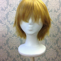 Short Golden Blonde Wig