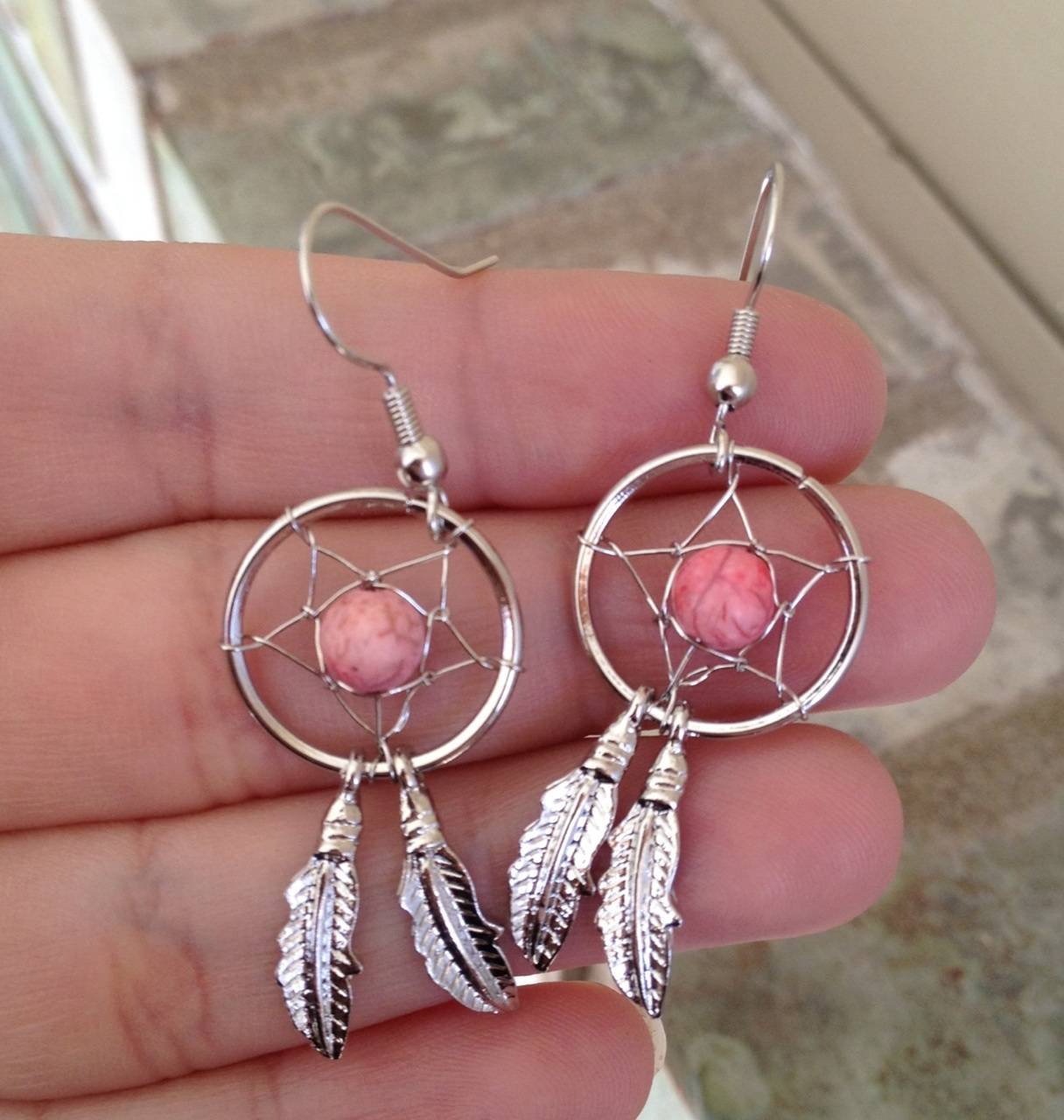 dream catcher earrings 183 country wind 183 online store
