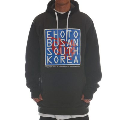 [season off sale] ehoto ski & snowboard signature hoodie - origin (black+darkgrey)