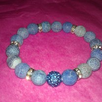 """The Blues"" Bracelet"
