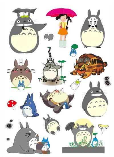 Waterproof Stickers: Rilakkuma & Totoro Style Travel ...