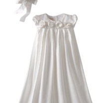 Baby Biscotti Christening Gown with Bonnet