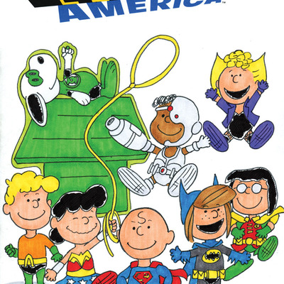 Peanuts justice league