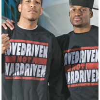 LoveDriven Not WarDriven Sweater Black