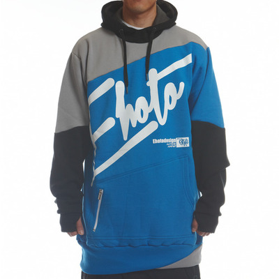 [season off sale] ehoto ski & snowboard drift hoodie - blue