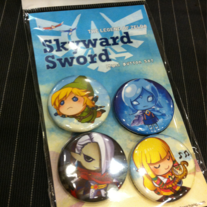 Skyward Mini Button Set
