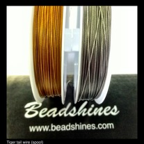 Tiger Tail Beading Wire 0.45mm (spool)
