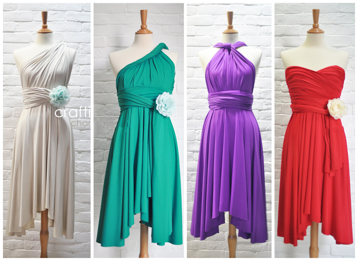 Bridesmaid dress convertible dress jersey dress infinity dress bridesmaid dress convertible dress jersey dress infinity dress wrap dress multi ways to wear thumbnail ombrellifo Choice Image