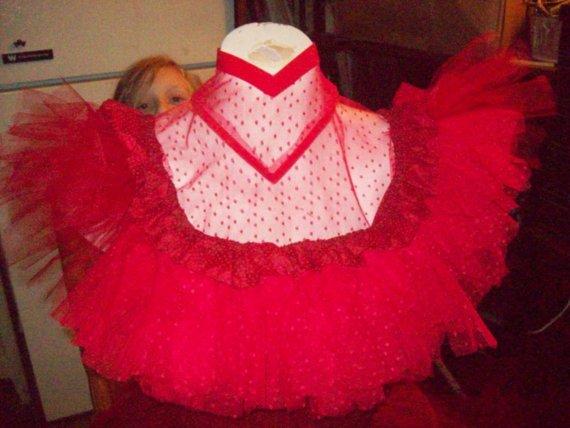 Faeryspell Creations   Beetlejuice Costume Red Wedding Dress-Lydia ...