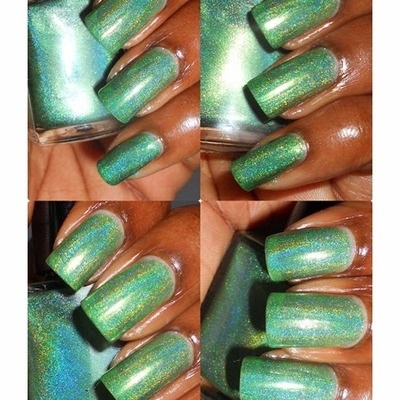 Literary lacquers - green gables