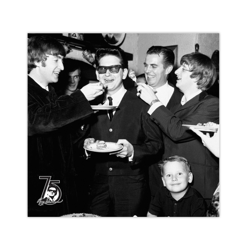 Roy Orbison Birthday Beatles Poster