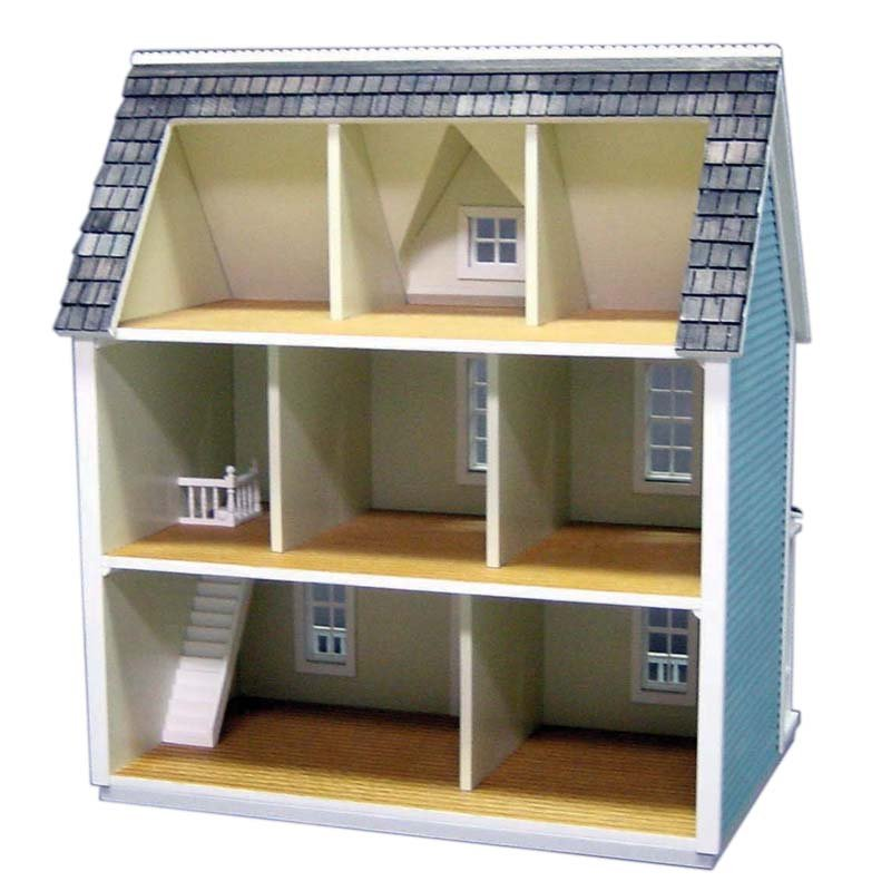 Skarla 39 s variety shop deals 1 24 scale 3 story farm for How to make your own dollhouse