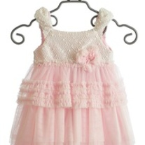 Isobella & Chloe Light Pink Claire Dress