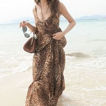 Vestido Leopardo / Leopard Dress 2WH203