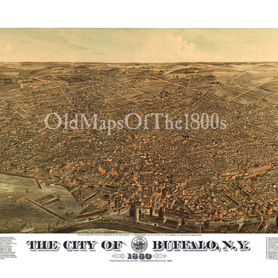 Home the old maps of the 1800s online store powered by for Craft stores buffalo ny