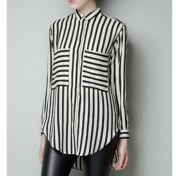 Find black and white striped blouse at ShopStyle. Shop the latest collection of black and white striped blouse from the most popular stores - all in.
