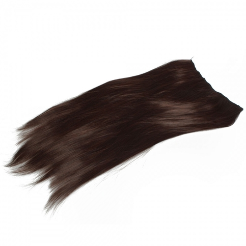 Large Brown Hair Extension Clips 72