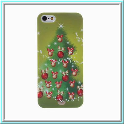 Iphone 5/5s - festive ornamental christmas tree case