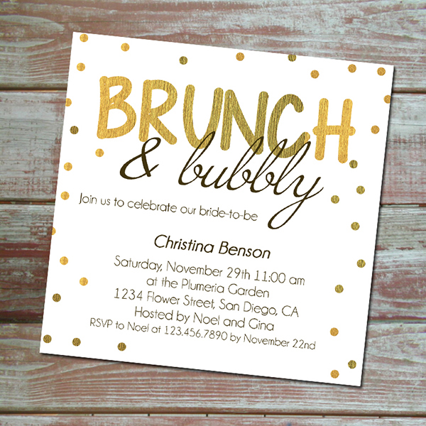 ... Invitation · Hennig Designs · Online Store Powered by Storenvy: hennigdesigns.storenvy.com/products/11789583-brunch-bubbly-bridal...