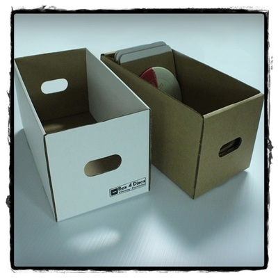 Wholesale - 20 x trotterbox-deluxes by box4discs (trays & lids)