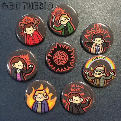 Supernatural pin set (8)